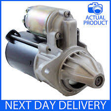 chevrolet aveo starter motors t191 new rmfd starter motor chevrolet aveo 1 4 2006 2015 petrol