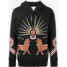 gucci hoodie mens. gucci embroidered hoodie ($1,750) ❤ liked on polyvore featuring men\u0027s fashion, clothing mens
