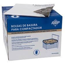 How Does A Trash Compactor Work Amazoncom Whirlpool W10165293rb 18 Inch Plastic Compactor Bags