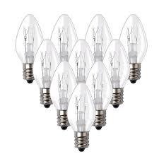 Night Light Wax Warmer Bulbs 15we12 15 Watt Bulbs For Scentsy Plug In Night Wax Warmer Diffuser C7 Replacement Bulb 15w 120 Volt 10 Bulbs