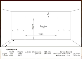 double garage doors sizes exquisite on exterior with regard to common overhead door ideas