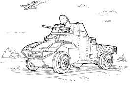 Militaire Pantserwagen Kleurplaat Gratis Kleurplaten Printen