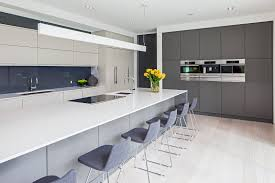 Grey And White Kitchen Modern Grey Kitchen Cabinets Outofhome