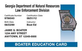 Boat Course Georgia Boating Safety Ed® License amp;