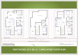 west facing site house plan internetunblock us lovely 30 40 home