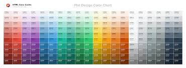 Para Paint Colour Chart Color Chart Html Color Codes