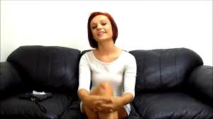 Backroom casting couch cute redhead