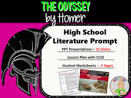 The Odyssey by Homer - Text Dependent Analysis Expository Writing ...