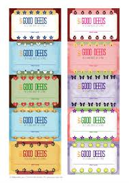 Good Deed Chart This Is Awesome Instead Of Using Chore Charts With Your