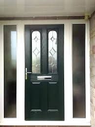 wooden front doors with side panels stylish door panel oak sidelights inside window curtains glass panels for stained doors