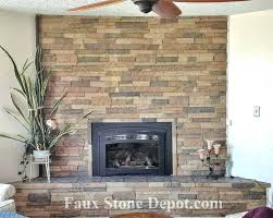 rock wall fireplace fake faux stone panels the blog on 0 for painting over fireplac faux stone