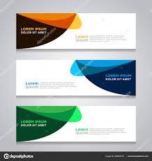 Desain Banner Design Banner Abstract Background Modern Web Template