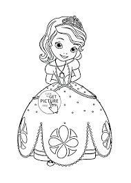 Printable Princess Coloring Pages Free Printable Princess Printable