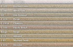 Brixment Color Chart Masonry Cincinnati Oh Western Hills Builders Supply
