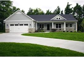house plans ranch walkout basement front simple ranch style house plans with walkout basement