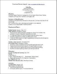 Functional Resume Template Functional Resume Sample Mentallyright Org