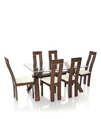 Oak Chairs For Kitchen Table Royaloak Olive Dining Set With 6 Chairs Solid Wood Buy Royaloak