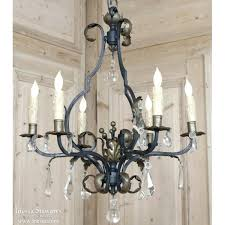 wrought iron crystal chandelier large chandeliers wrought iron crystal chandelier