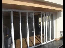 Puerta Corredera De Aluminio  YouTubePuertas Correderas Aluminio Exterior