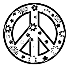 Small Picture Peace Sign Coloring Pages For Girls Inspiring Bridal Shower Ideas