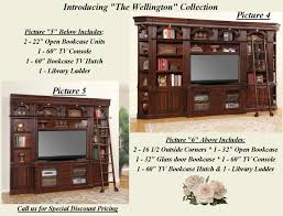 wall units for office. Includes: Entertainment Centers, Wall Units, Office Bar Cabinet And More. Warm Tone Finish. Please Call Us For Our Special Discount Pricing. Units T