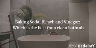 Cleaning Bathroom Tile Delectable Baking Soda Bleach And Vinegar Which Is The Best For A Clean Bathtub