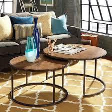 round nesting cocktail table khaki oil rubbed bronze coffee tables australia