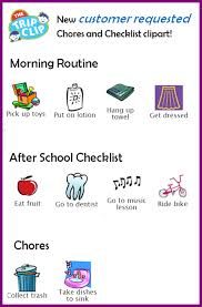 New Chores Checklists Clipart The Trip Clip Blog Make Any List