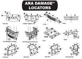 Ara Damage Locator Chart Cut Sheets Northern Virginia Auto Recycling