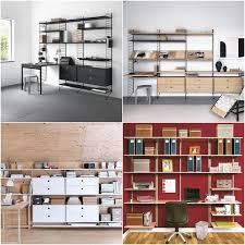 home office wall organization systems