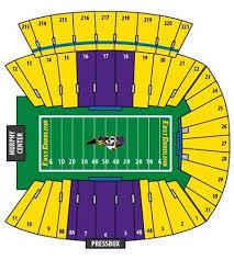22 Qualified Ecu Stadium Seating