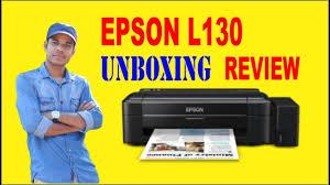 Epson L130 Inkjet Printer Full Unboxing Review Youtube