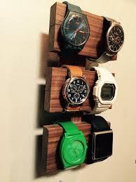 25 best ideas about watch storage watch holder walnut watch display