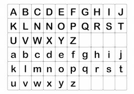 Abc英語アルファベットカード小文字の無料イラスト素材イラスト