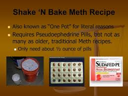 How To Make Shake And Bake Meth Ppt Welcome R R H A From The Bryan Police Department