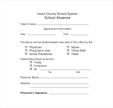 Doctors Note For School Absence Free Doctor Excuse Letters For Work Template Fake Doctors Note