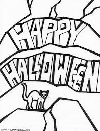 Halloween Coloring Pages For Kids Free