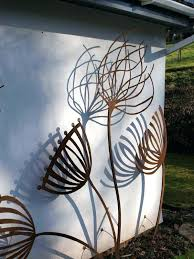 outdoor metal wall art large outdoor metal wall art for walls details heart shaped tree outside