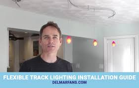 how to install flexible track lighting