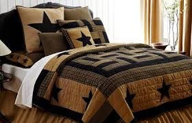 ... Sets With Storage Country Comforters And Quilts Western Style Bedroom  With Dark ...