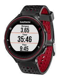 Garmin Forerunner 235 Gps Running Watch Black Red