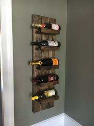 Rustic Wine Rack Wall Mounted Bottle Holder Vertical Fullxfull Jaym