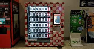 Vending Machine Houston Mesmerizing IAH Is Selling Fashion From A Vending Machine Rare
