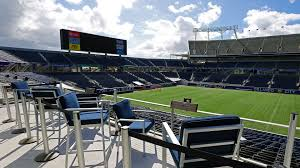 Florida Citrus Bowl Seating Chart Loge Boxes Camping World Stadium