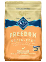 Blue Freedom Dry Puppy Food Grain Free Chicken Recipe