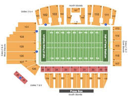 59 Most Popular Tom Benson Hall Of Fame Stadium Seating Chart