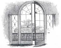 window pencil drawing. drawings of windows and doors | french window, also unusual in america the 18th century, opened yard ideas pinterest sketches window pencil drawing e