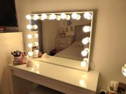 vanity mirror lighting. Wonderful Vanity Light Bulbs Mirror Set With Lights Best Ideas On Makeup Inside . Lighting