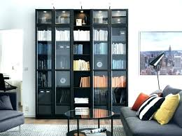 tall bookcase with doors black bookcase with glass doors tall bookcases white tall bookshelf with glass doors