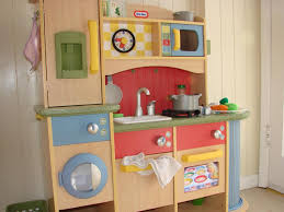 image of kids wooden play kitchens